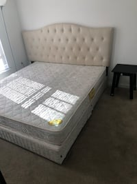 Almost brand new European mattress and head bad Germantown, 20874