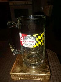 VINTAGE CORNERSTONE BAR AND GRILL 7IN HEAVY GLASS  Providence