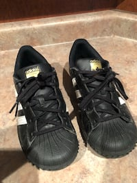pair of black Adidas low top sneakers Windsor, N9G 3C1