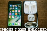 Iphone 7 UNLOCKED 32GB w/ Accessories  Arlington