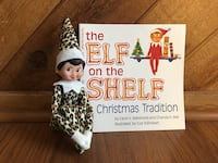 Leopard print elf on the shelf girl set Coral Springs, 33071