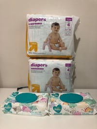 Diapers and wipes  Woodbridge, 22193
