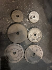 Used Weight plates Small hole only Bell Gardens, 90201