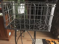 1950's metal crate Lutherville Timonium, 21093