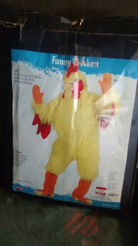Funny Chicken costume