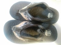 Size 9/10 Toddler Brown Route 66 Slippers Honolulu, 96819