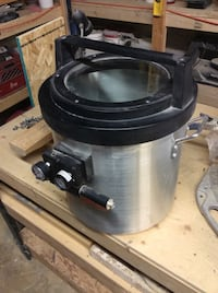 Degassing chamber for resin and rubber $500 mould making!