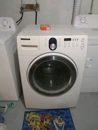 white Samsung front-load washing machine Edmonton, T5W 4R8
