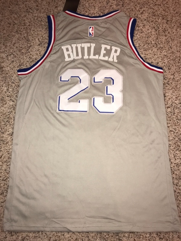 size 40 a6098 1fee6 Jimmy Butler Sixers jersey