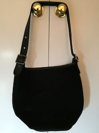Genuine coach black suede bucket bag Fairfax, 22032