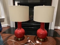 Red Lamps (Two) Fairfax, 22033