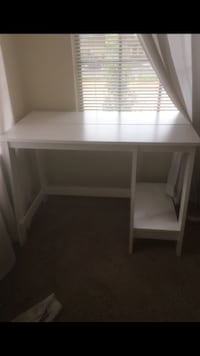 white wooden single pedestal desk Tallahassee, 32304