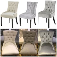 Chair with Ring. Studs. Tufted.Brand New inboxes.  Toronto