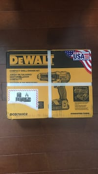 two DeWalt cordless hand drill boxes Kitchener, N2A 2N6