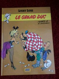 BD Lucky luke ,le grand duc Louvres, 95380