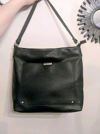 Roots73 leather black bag Mississauga, L5A