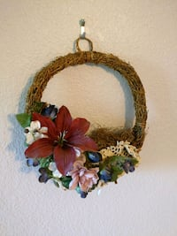 Small fall wreath Belvidere, 61008