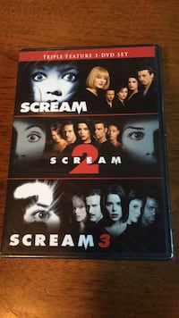 scream dvd set (brand new/unopened)  Omaha, 68104
