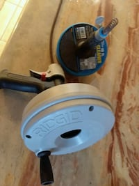 plumbing snake and drill master drain cleaner