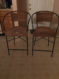 Two pier one kitchen stools Catonsville, 21228