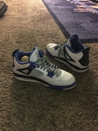 Motorsport 4 White & Blue Size 13 Shoes Louisville