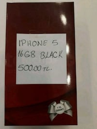 Iphon 5 black 16gb  Eskişehir