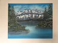 24 x 30 inch beautifully painted landscape  Not framed Reno, 89503