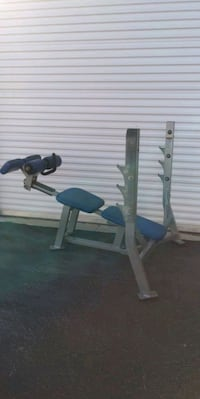 Hammer Strength decline bench
