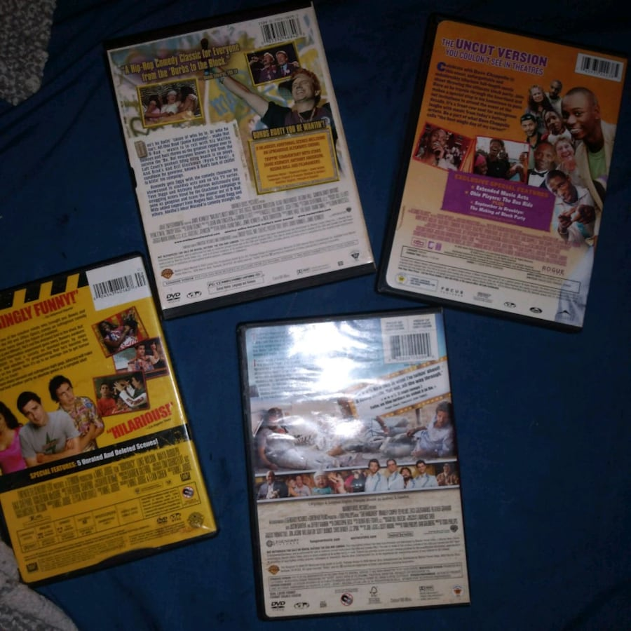 DVD's (Comedy) 4 different movies. 1