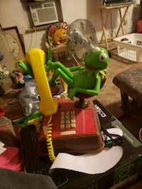 Kermit the frog vintage telephone
