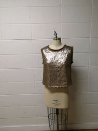 Sequin gold top Edmonton, T5M 2B7