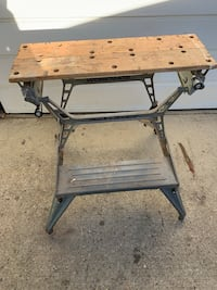 Black and decker folding work bench Edmonton, T6C 4C8