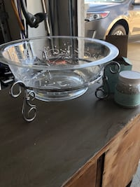 clear glass bowl with lid Elk Grove, 95758