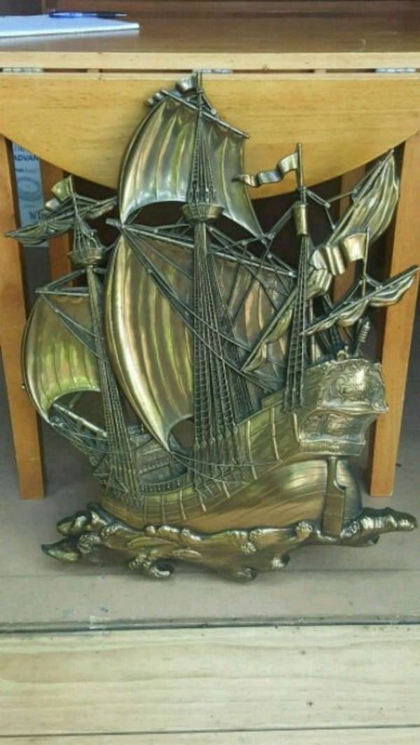 Used 1958 HOMCO Large Pirate Ship Decor For Sale In Athens