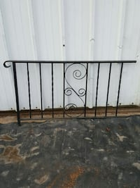 REDUCED!!Vintage solid wrought iron railing 56in. Nazareth, 18064