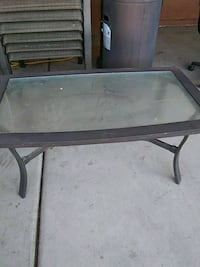 Coffee table glass good shape