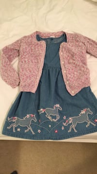 Dress and jacket 5T Stafford