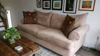 Microfibre couch and matching chaise Ottawa, K2H 8J8