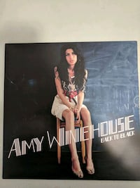 Amy Winehouse Back to Black Vinyl Washington, 20037