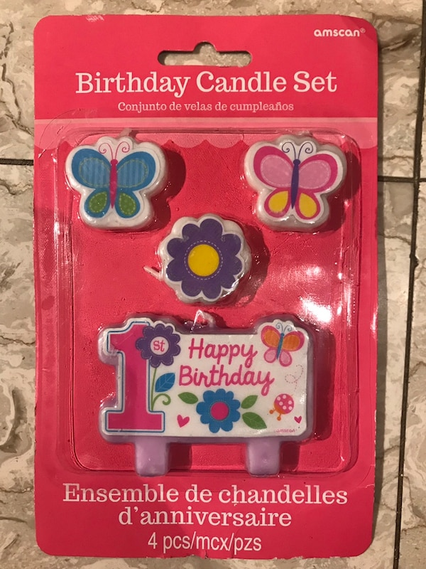 Used First Birthday Candles For Sale In Mississauga