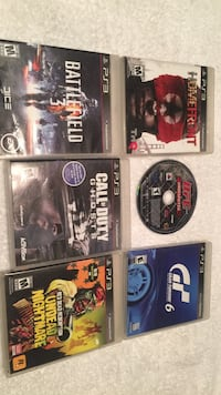 Ps3 games $5 each or $20 for all Desert Hot Springs, 92240