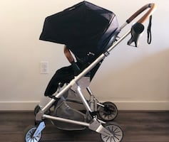 Elegant stroller + weather shield
