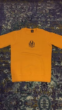 OVO October Letterlock Crewneck Mustard Men's Small Toronto, M6B 2L4