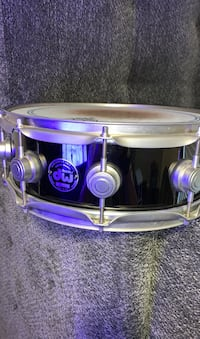 DW Black Nickle over Brass Late 90's  Snare Drum RARE!!!