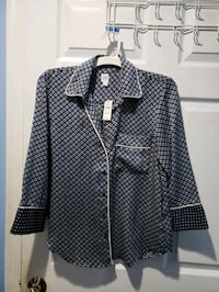 blue and white plaid button-up dress shirt Falls Church, 22042