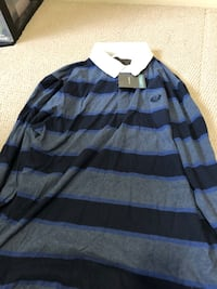 black and gray stripe sweater Calgary, T3K 0S7