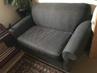 Single pullout bed couch Edmonton, T6G 0X3
