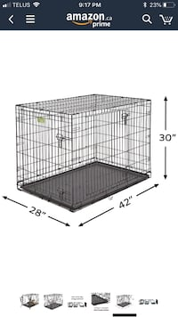 Large Crate for Dog or Other Pets 535 km
