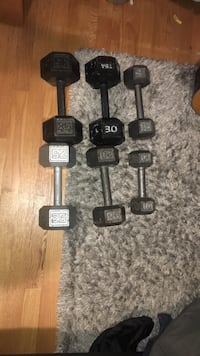 Dumbbell set 10-35 pounds Mc Lean, 22101