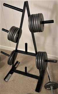 Weight Plate Rack Potomac